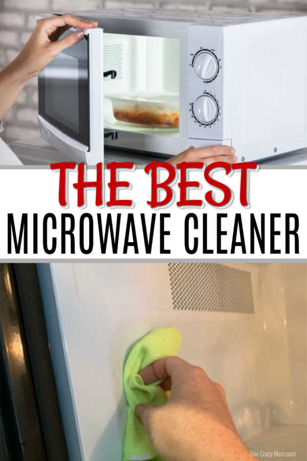 Learn how to clean microwave with vinegar. This simple microwave cleaning hack will get the job done without chemicals and works great.