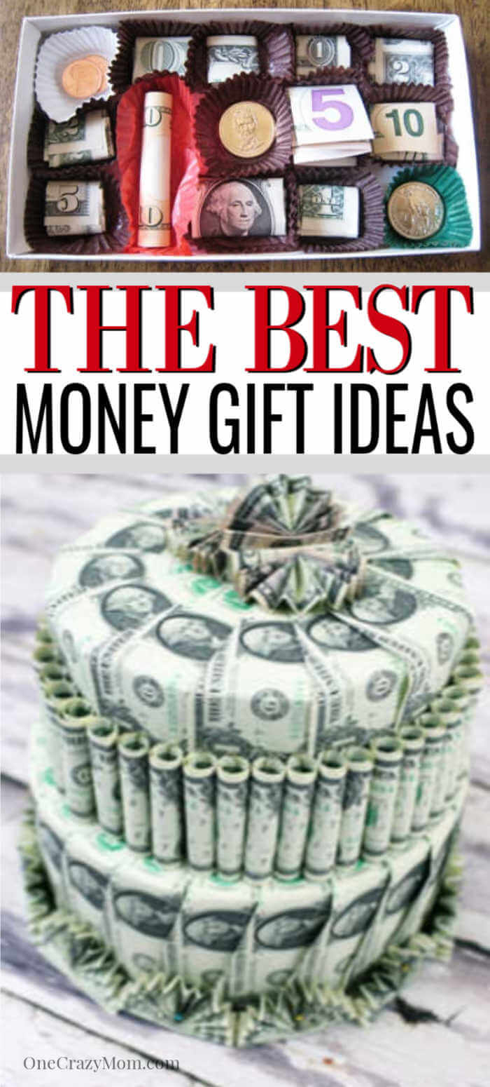 We have over 15 cuteideasfor givingmoney.Some people are hard to shop for and you need creative Money Gift Ideas to make giving cash special.
