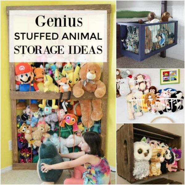 GENIUS Stuffed Animal Storage Ideas