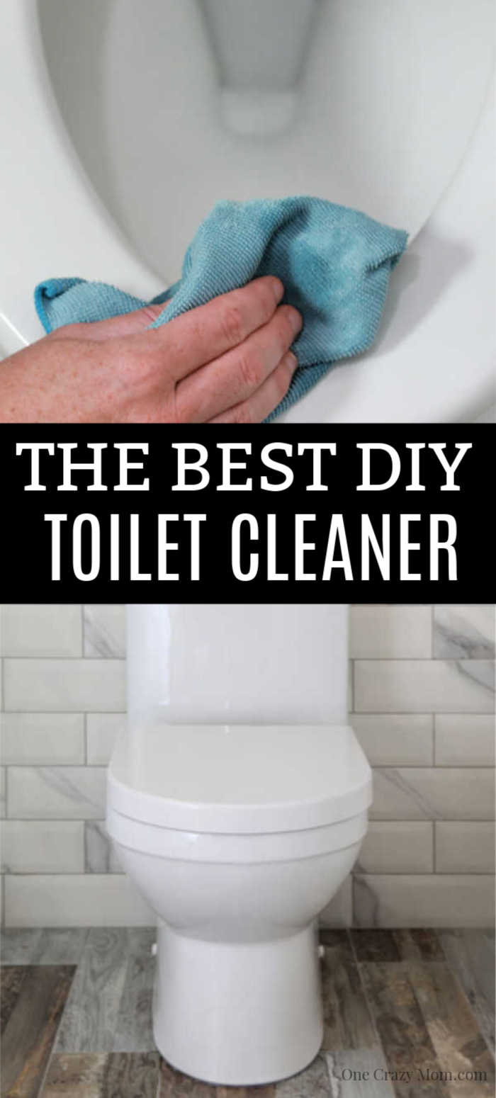 DIY Toilet Cleaner is all natural, easy to make and budget friendly. This cleaner works great and will have your toilet clean and fresh.