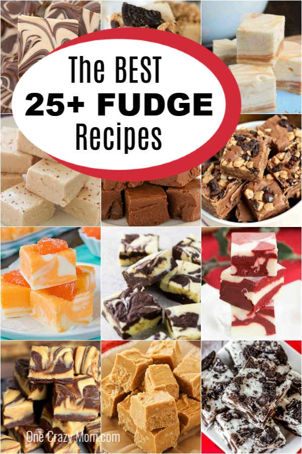 Fudge is such a delicious treat and we have over 25 of the best fudge recipes. Try these easy recipes for decadent fudge that will leave everyone impressed.
