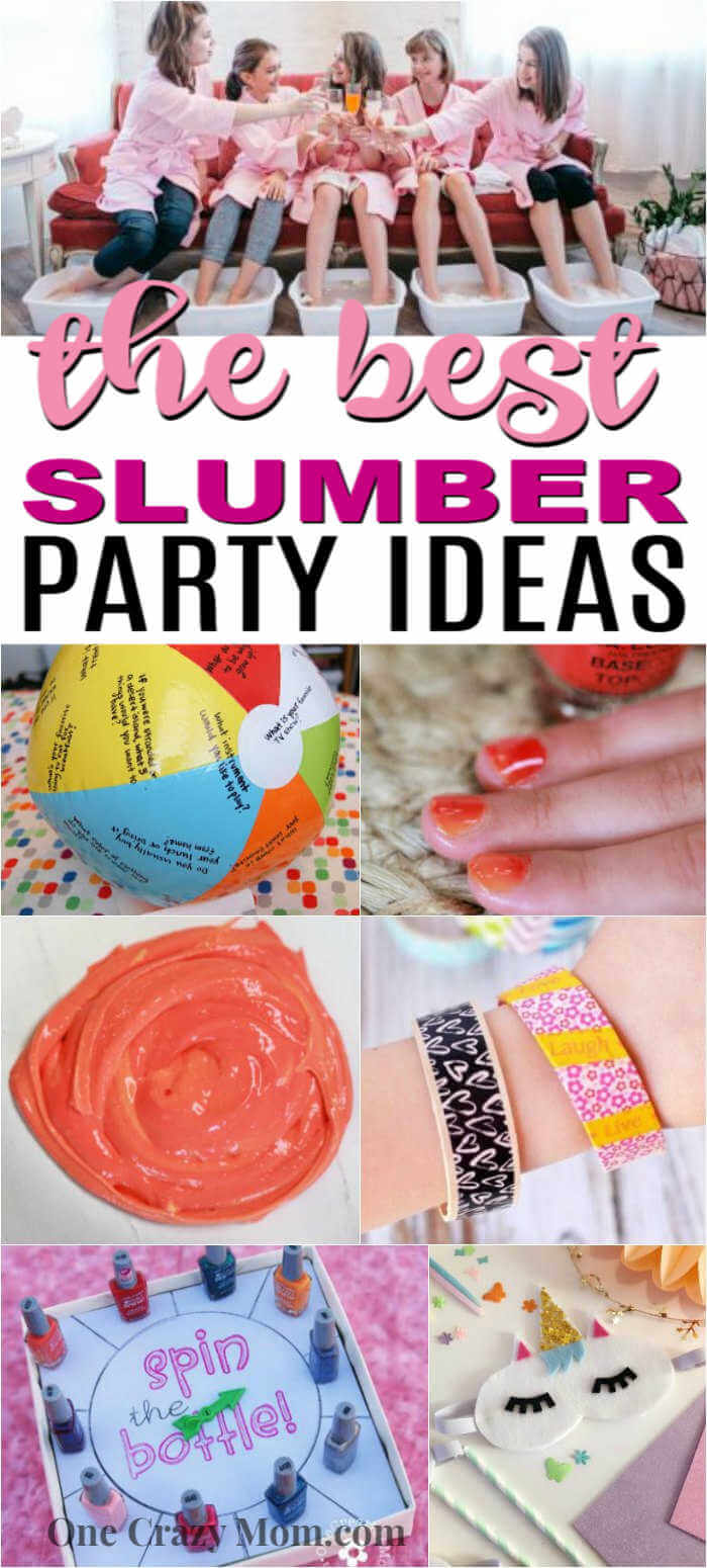 Sleepovers are so much fun and these 25 Slumber Party Ideas are sure to be a blast. From food and decor to games, these sleepover ideas are easy but fun!