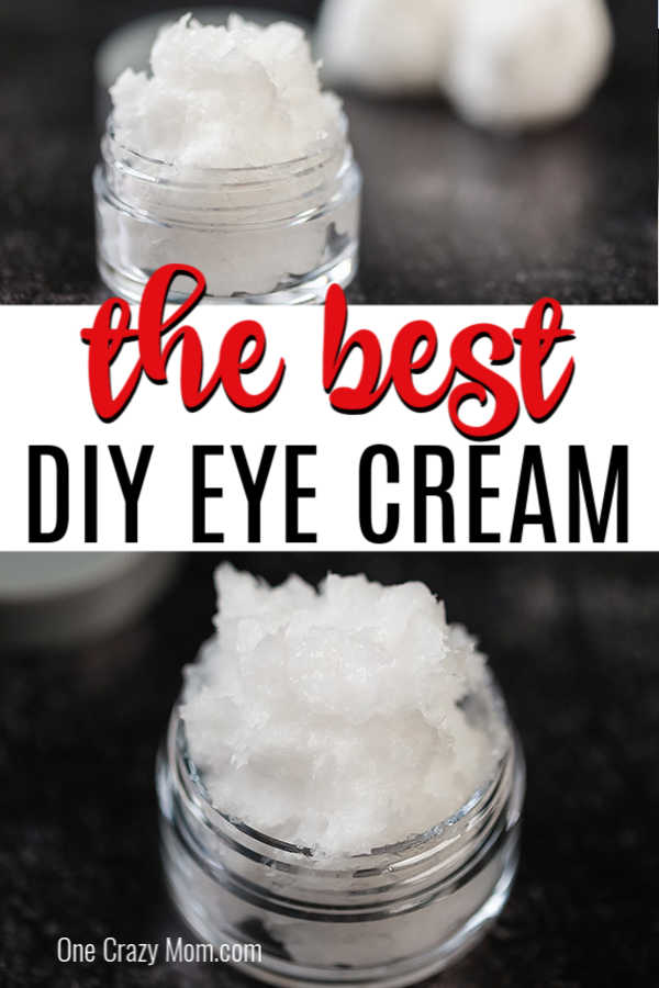 DIY Eye Cream is easy to make and only 2 ingredients needed. Homemade eye cream rejuvenates the skin and is all natural for the best natural eye cream diy.