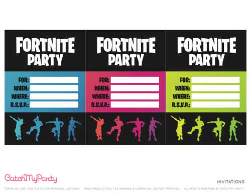 Find over 15 Fortnite birthday party ideas from food and decor to games and more. These fortnite party ideas will make your party a blast.