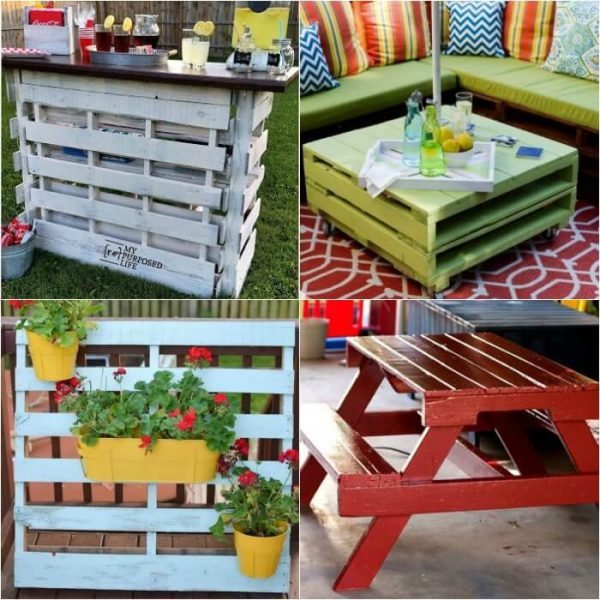 DIY Wood Pallet Ideas