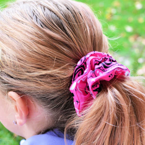 DIY Scrunchie No sew