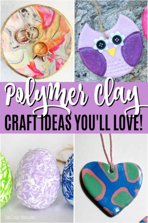 Get started today with over 15 Polymer Clay Ideas that are fun for kids and adults. Choose a polymer clay tutorial and be prepared to have a blast.