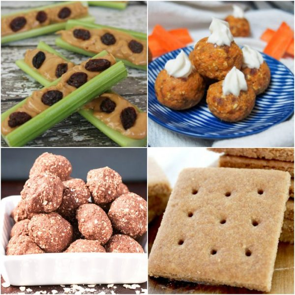 30 Healthy Snacks for your Toddlers