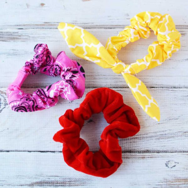 The Best Diy Scrunchies