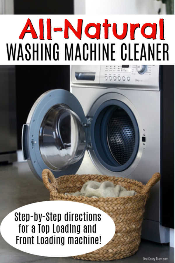 how to clean washing machine - easy