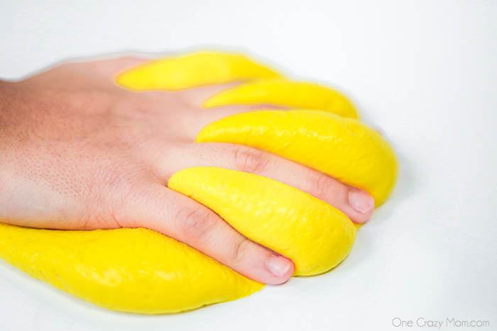 We have all of the tips and tricks so that you can learn how to make Butter Slime. This easy butter slime with clay is super fun and really simple to make.
