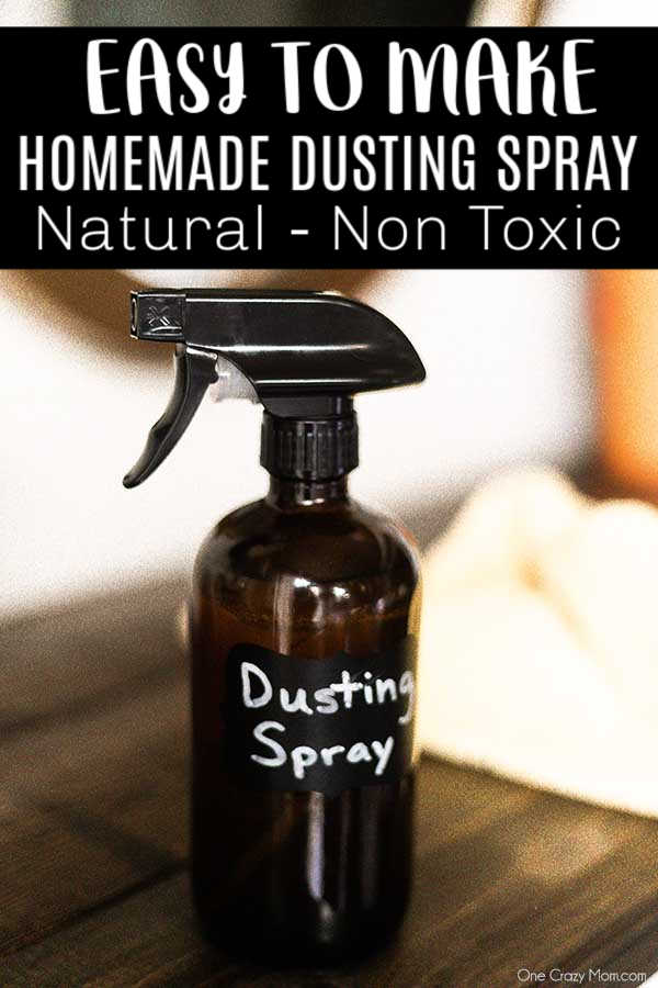 DIY Dusting Spray is so easy to make with just a few simple ingredients. Put this cleaner to use and you will have a dust free home in minutes!