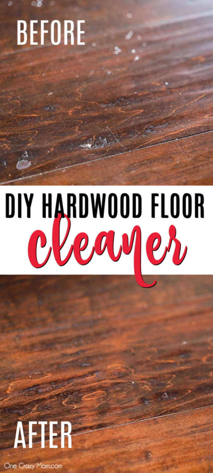 Make this DIY hardwood floor cleaner in just minutes for an all natural cleaner you will love. From floors to trim and more, your wood will be so clean.
