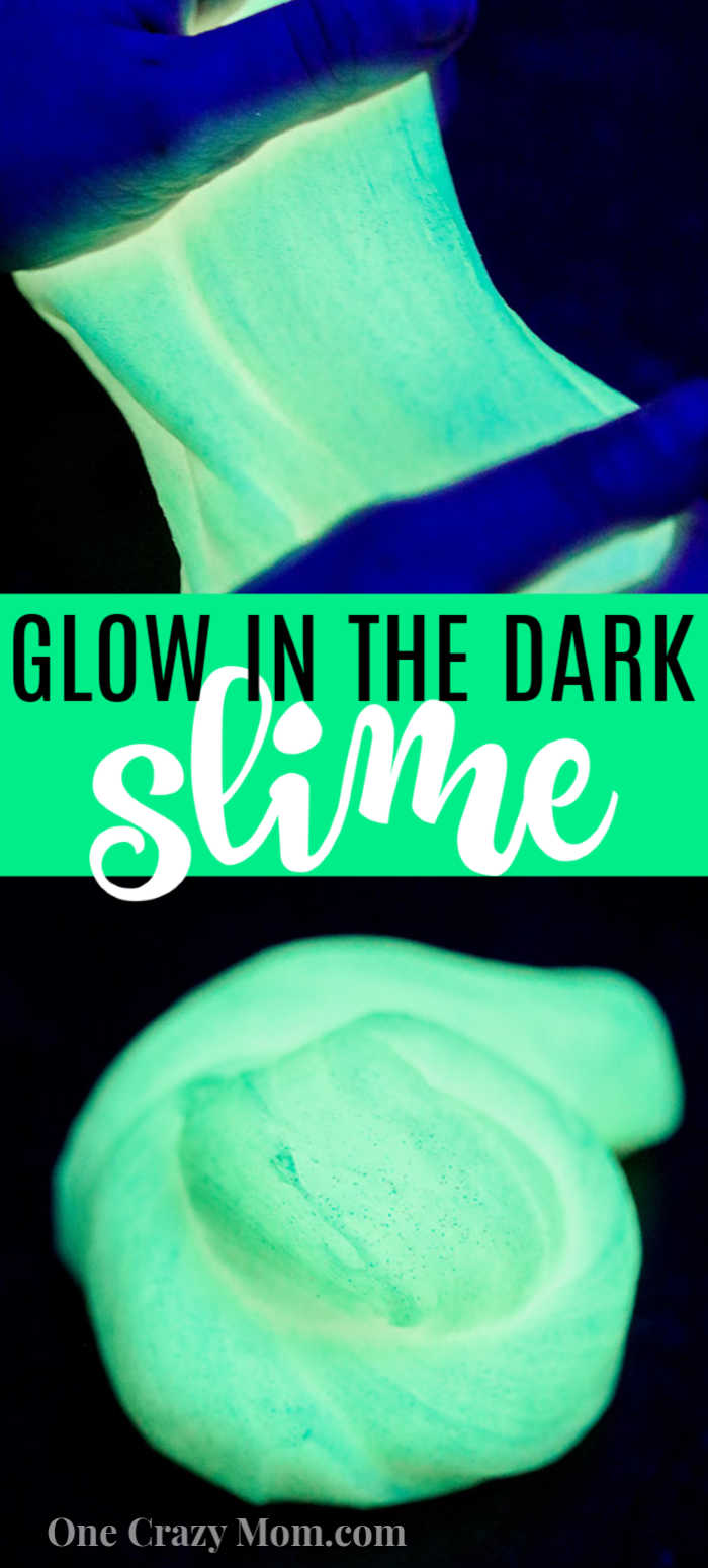 Glow in the dark slime takes slime to a new level and everyone will love this fun DIY.  Learn how to make glow in the dark slime with only 3 ingredients.