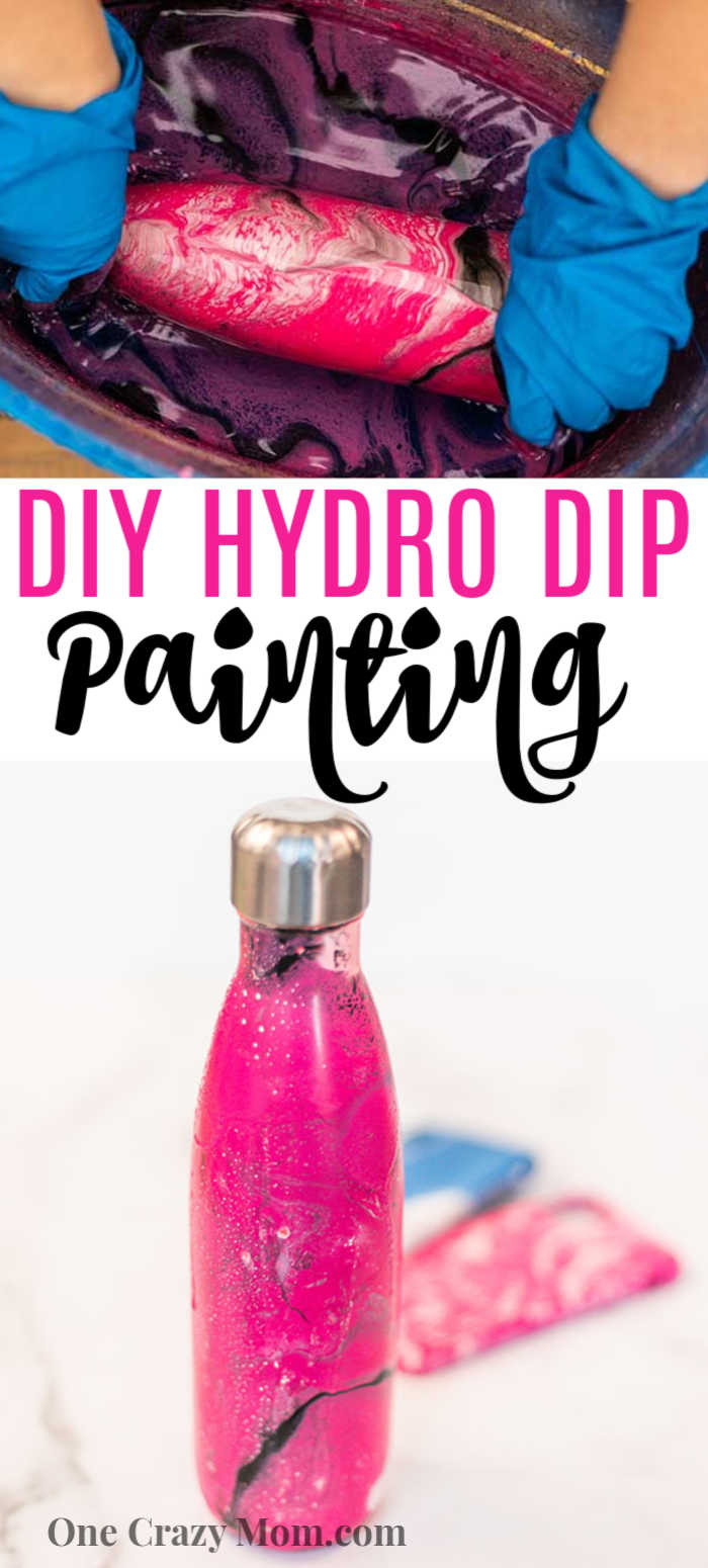Have you been wondering how to hydro dip? We have a very simple but fun tutorial so you can learn all about hydro dipping.