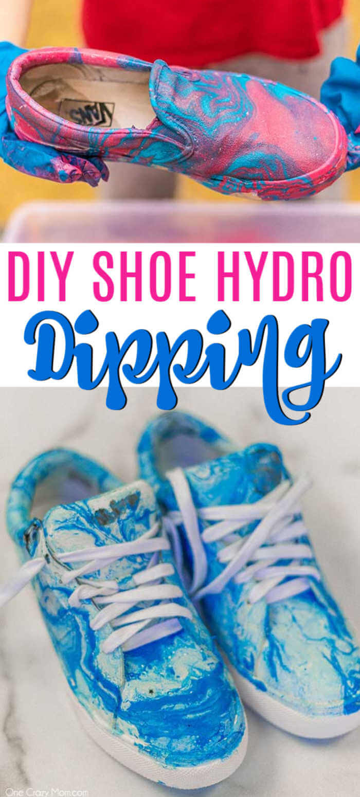 Today we are going to show you how to hydro dip shoes! It is super easy and turns out with a gorgeous design. Once you try this, you will love it!