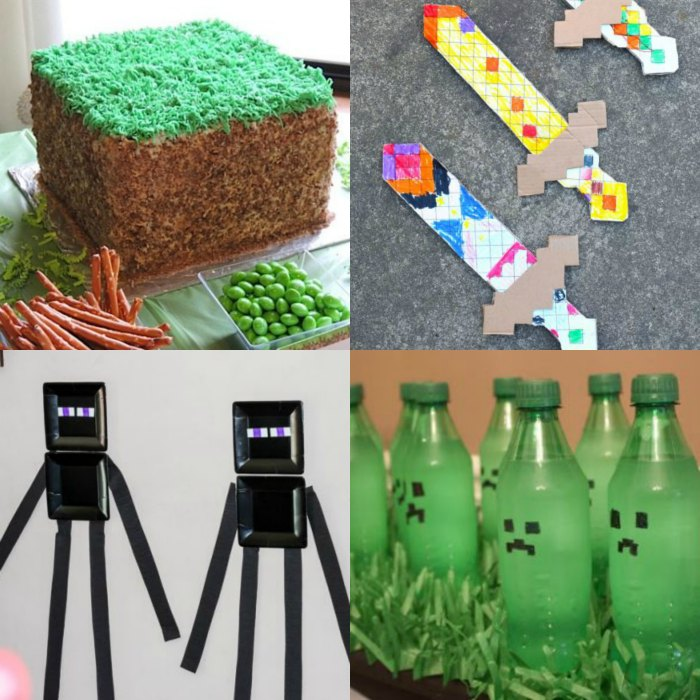 Fine Minecraft Party Ideas The Best Minecraft Birthday Party Ideas Funny Birthday Cards Online Fluifree Goldxyz