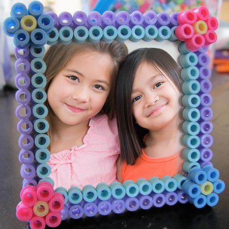 Perler bead crafts are so much fun and we have over 15 easy perler bead ideas. Choose from picture frames, magnets and so much more.