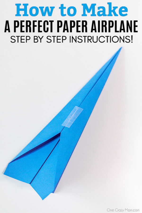 how to make easy paper planes - Google Search (With images ... | 900x600