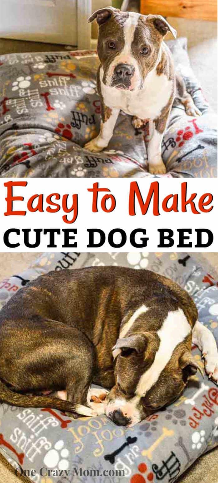 Diy Dog Bed Easy To Make Washable Diy Dog Bed