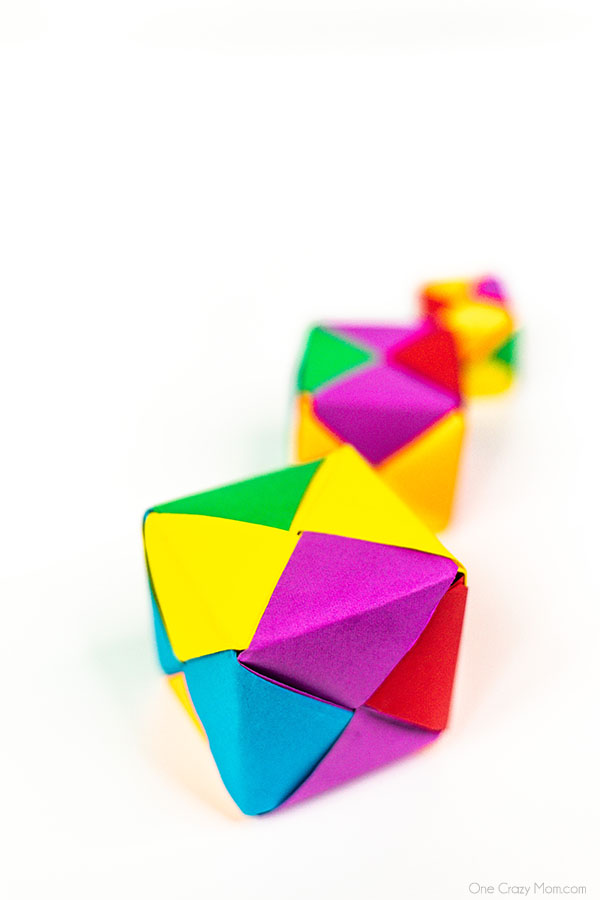 How to Fold Origami Paper Cubes - Frugal Fun For Boys and Girls | 900x600