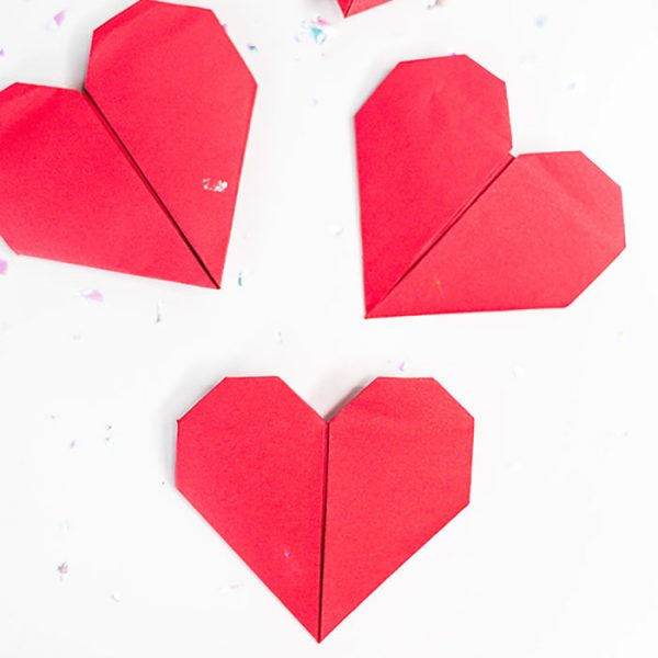 How to make an Origami Heart