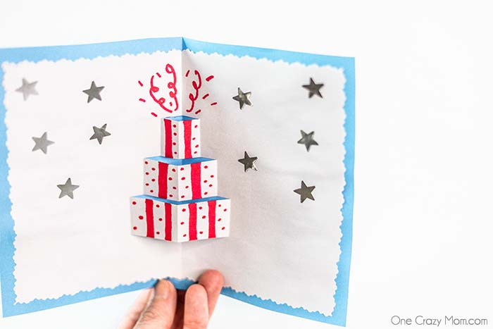 Skip the store and learn how to make a pop up card at home. These are so fun to make and receive. Get creative and make a pop card for any occasion.