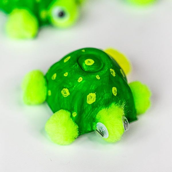 Easy Turtle Egg Carton Craft