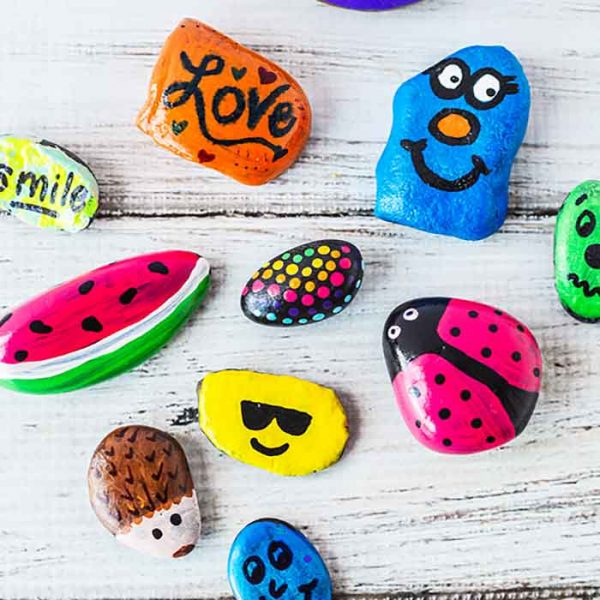 DIY painted rocks – How to Paint rocks like a pro