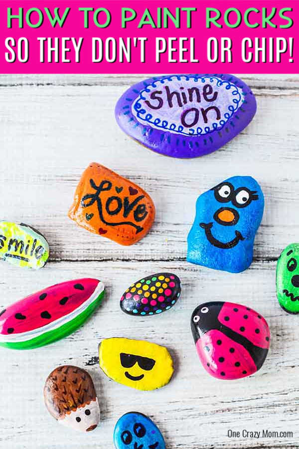 DIY Painted Rocks is a fun activity that can also brighten someone's day. You can paint various designs, sayings and more to encourage and uplift others.