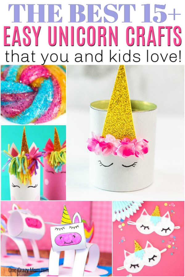 Are your kids crazy over unicorns? They are going to absolutely love these fun unicorn crafts for kids! We have lots of great ideas to try!
