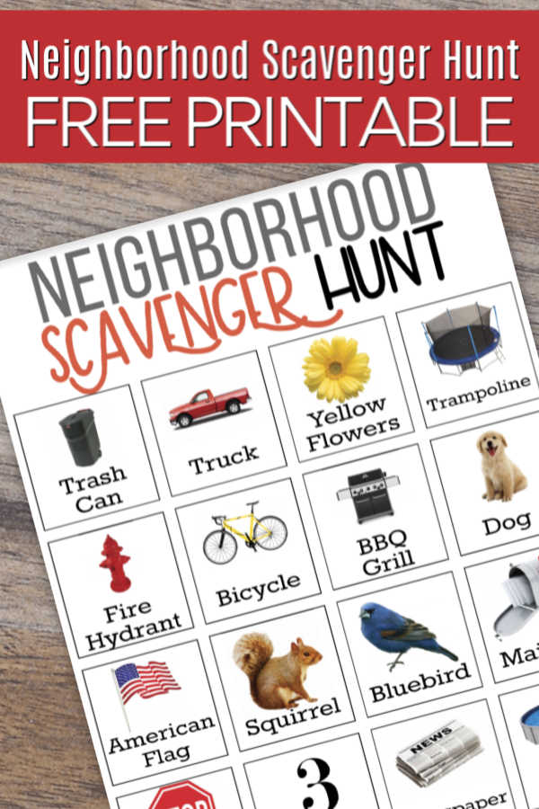 Are the kids bored? Try this fun Neighborhood scavenger hunt for kids. Get your free printable and get started with thisneighborhood scavenger hunt.