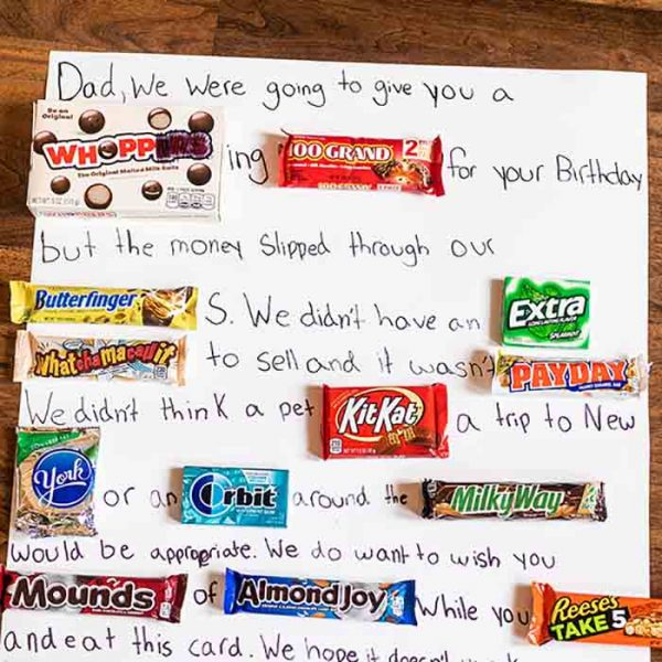 How to make a Candy Card